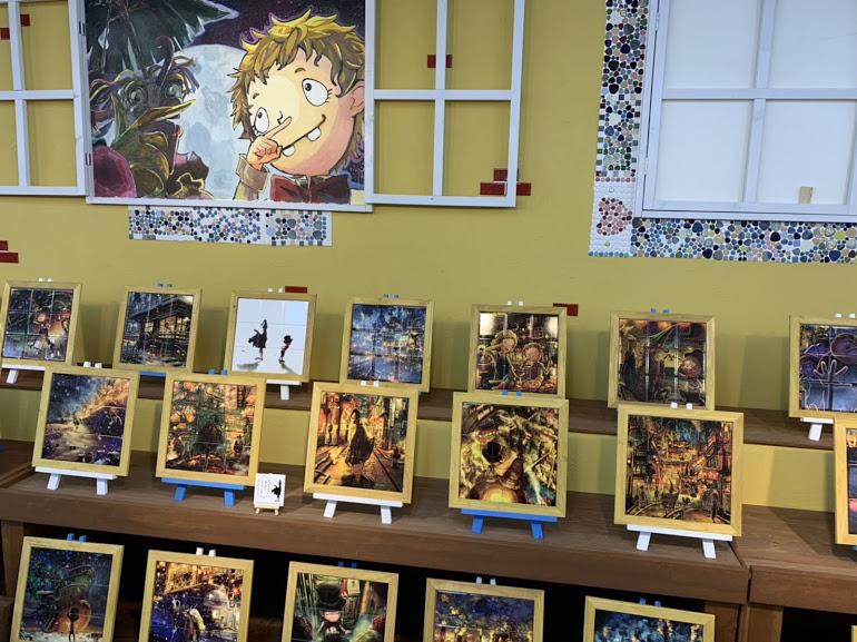 えんとつ町のプペル・タイルの絵本展
