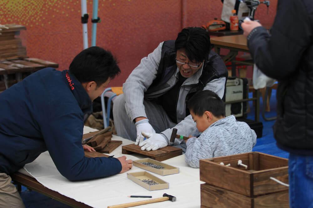 第一回マルナカマルシェ 町の仲間とつくる手作りイベント